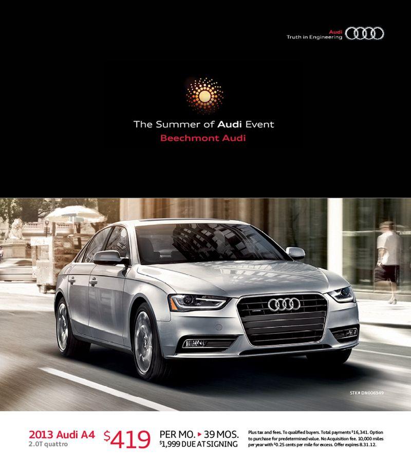 The Summer Of Audi Event Audi Cincinnati East - Beechmont audi